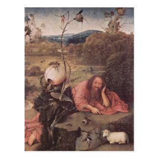 Saint John in the Wilderness 15th Century Postcard