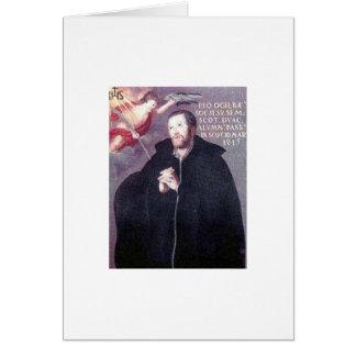 Saint John Ogilvie greeting card