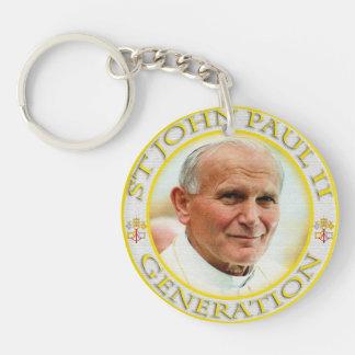 SAINT JOHN PAUL II GENERATION KEY CHAIN