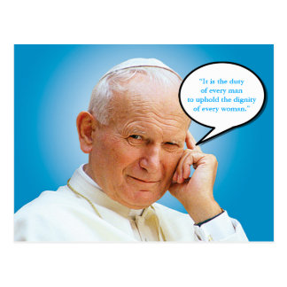 Saint John Paul II Karol Wojtyla Postcard