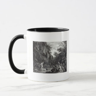 Saint John preaching in the Wilderness Mug