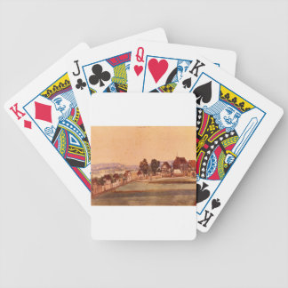 Saint John`s Church by Albrecht Durer Bicycle Playing Cards
