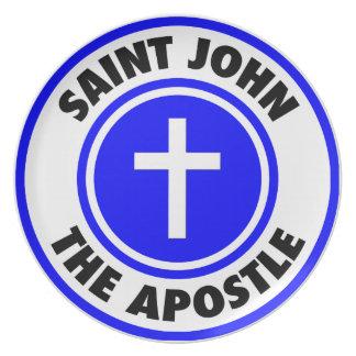 Saint John the Apostle Plate