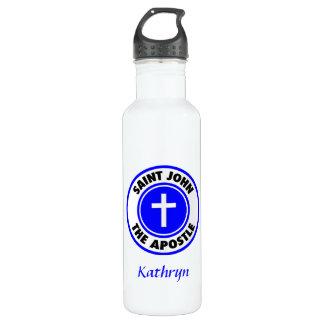 Saint John the Apostle Stainless Steel Water Bottle