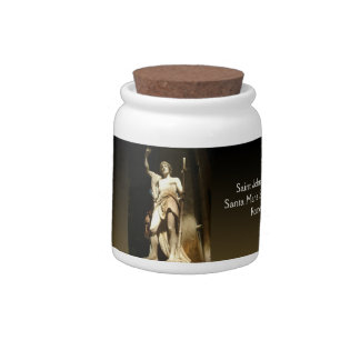 Saint John the Baptist Candy Jars