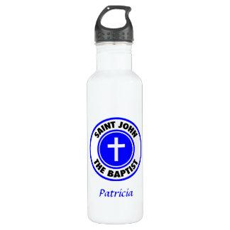 Saint John the Baptist Stainless Steel Water Bottle