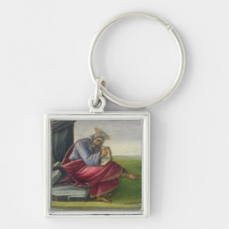 Saint John the Divine on Patmos, Writing the Book Keychain