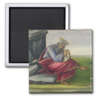 Saint John the Divine on Patmos, Writing the Book Refrigerator Magnet