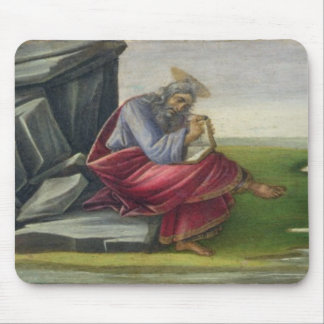 Saint John the Divine on Patmos, Writing the Book Mouse Pad