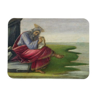 Saint John the Divine on Patmos, Writing the Book Flexible Magnet