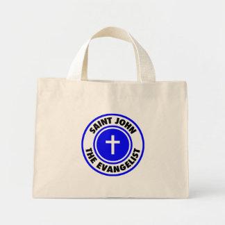 Saint John the Evangelist Tote Bags