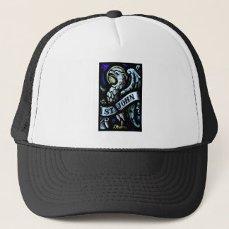 Saint John the Evangelist Stained Glass Art Trucker Hat