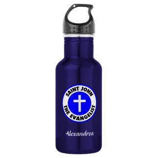 Saint John the Evangelist Stainless Steel Water Bottle