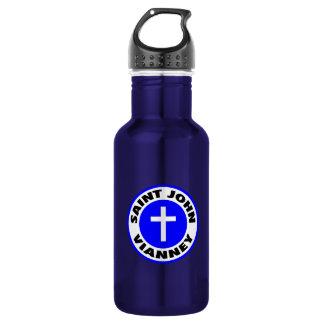 Saint John Vianney Stainless Steel Water Bottle