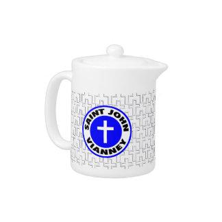 Saint John Vianney Teapot