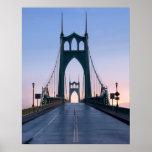 Saint Johns Bridge Poster