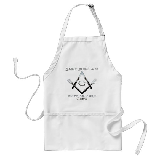 Saint Johns Lodge #51 KFC 1 Adult Apron