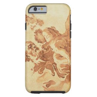 Saint Joseph adoring the Christ Child (pen, ink, b Tough iPhone 6 Case