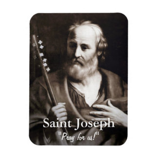 Saint Joseph Custom Photo Magnet