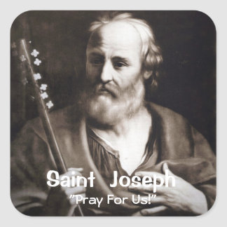 Saint Joseph Custom Sticker