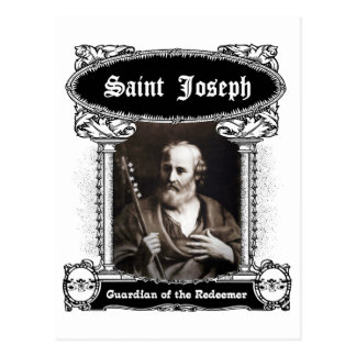 Saint Joseph - Guardian of the Redeemer Postcard
