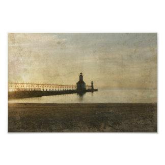 Saint Joseph Michigan Lighthouse Photograph