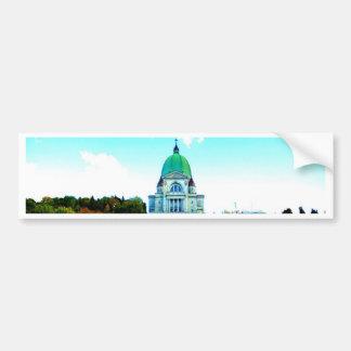 Saint Joseph Montreal chauch Bumper Sticker