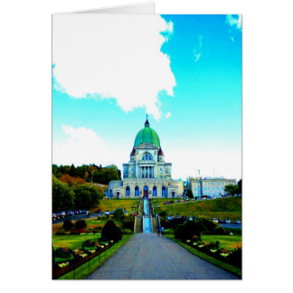 Saint Joseph Montreal chauch Card