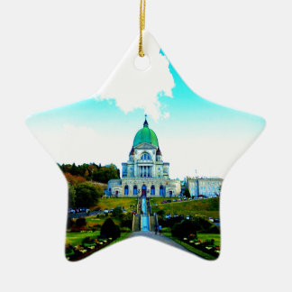 Saint Joseph Montreal chauch Ceramic Ornament