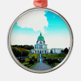 Saint Joseph Montreal chauch Metal Ornament