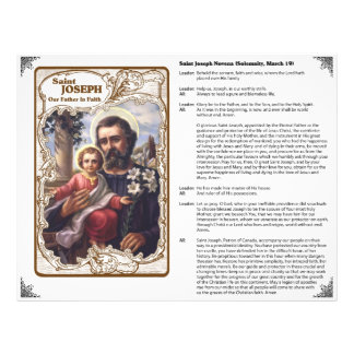 Saint Joseph - Our Father in Faith Custom Flyer