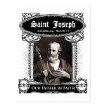 Saint Joseph - Our Father in Faith Custom Postcard