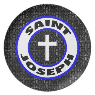 Saint Joseph Plate