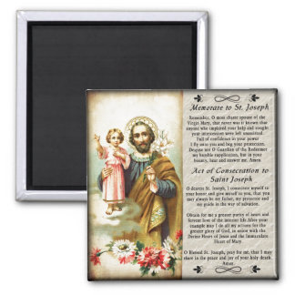 Saint Joseph S3 Custom Fridge Magnet