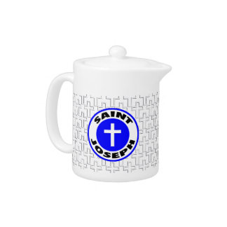 Saint Joseph Teapot
