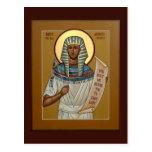 Saint Joseph the All-Comely Prayer Card Post Card