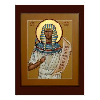 Saint Joseph the All-Comely Prayer Card Postcard
