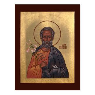 Saint Joseph the Betrothed Prayer Card Postcard
