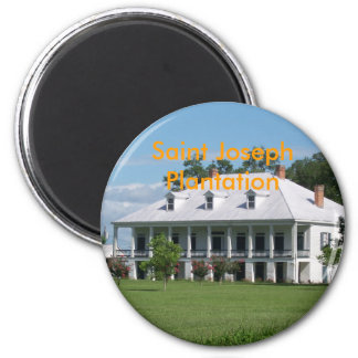 Saint JosephPlantation 2 Inch Round Magnet