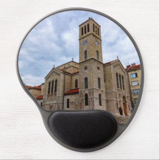 Saint Joseph's Church in Sarajevo. Bosnia and Herz Gel Mouse Pad