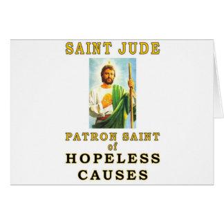 SAINT JUDE GREETING CARD