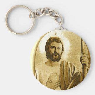 Saint Jude Keychain