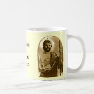 Saint Jude Classic White Coffee Mug
