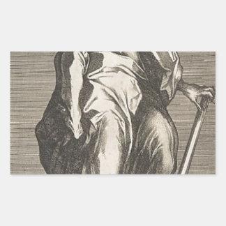 Saint Jude (or Saint Matthias) Rectangular Sticker