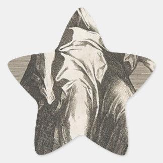 Saint Jude (or Saint Matthias) Star Sticker