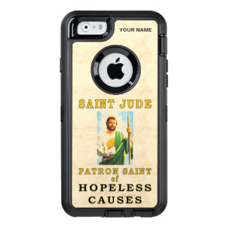 SAINT JUDE  (Patron Saint of Hopeless Causes) OtterBox Defender iPhone Case