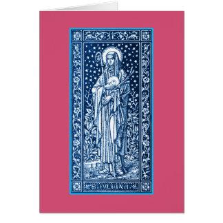Saint Juliana Falconieri Greeting Card