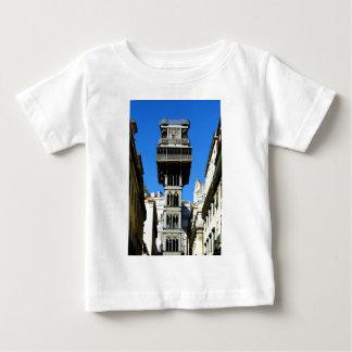 Saint Justa Lift, Lisbon, Portugal Baby T-Shirt