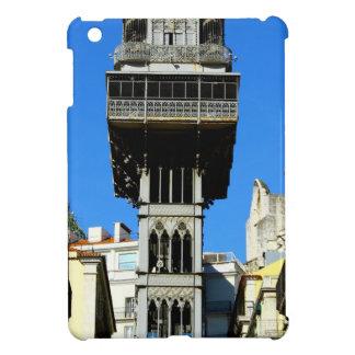 Saint Justa Lift, Lisbon, Portugal iPad Mini Cover