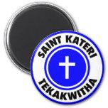 Saint Kateri Tekakwitha Fridge Magnets